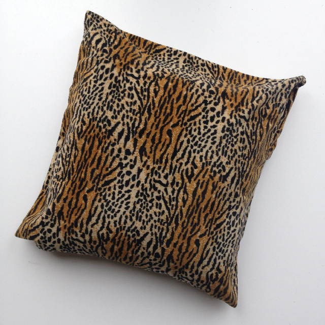 CUS0085 CUSHION, Animal Print - Tiger Leopard $10