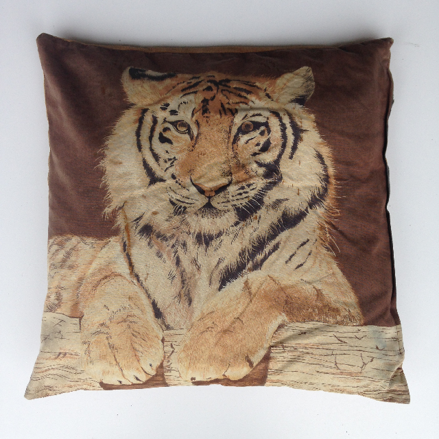 CUS0086 CUSHION, Animal Print - Tiger Picture $10
