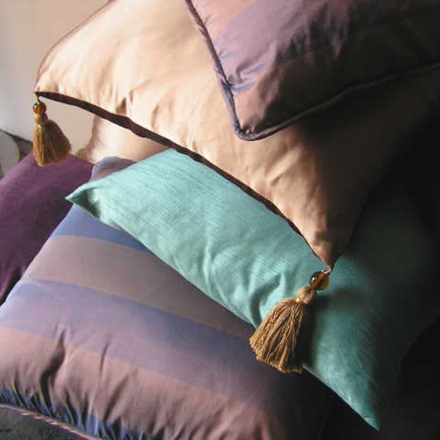 Collection of Pink, Lilac and Blue Cushions