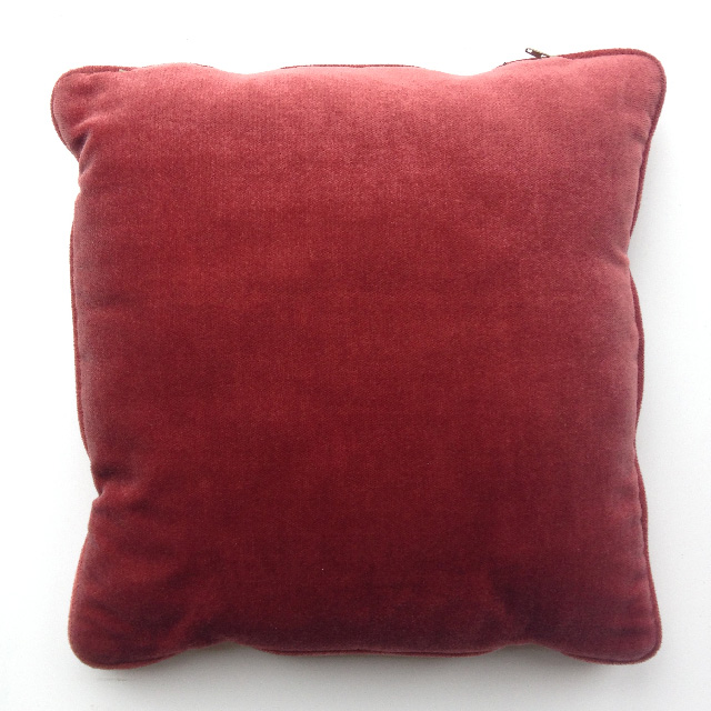 CUS0172 CUSHION, Pink Velvet (Dusty Pink) $10