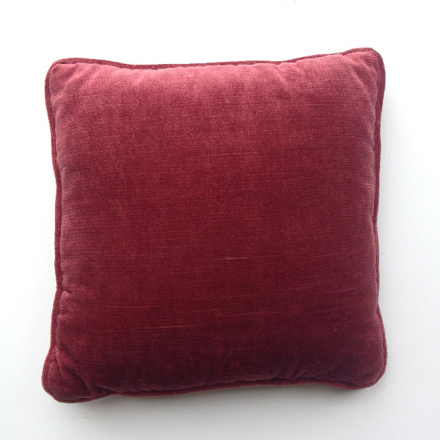 CUS0173 CUSHION, Pink Velvet 30cm (Dusty Pink) $7.50