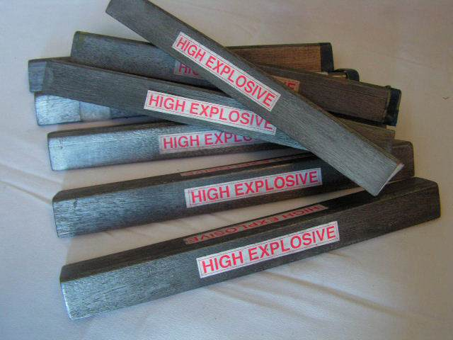 EXP0005 EXPLOSIVES, High Explosive Stick $3.75