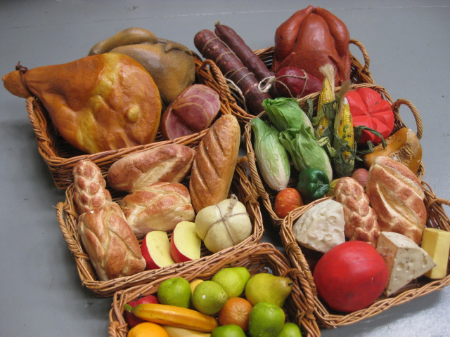 Baskets of Fruit & Veg