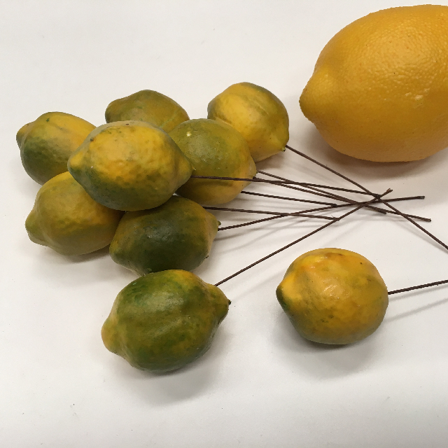 FRU0004 FRUIT, Artificial Lemon Picks $0.50