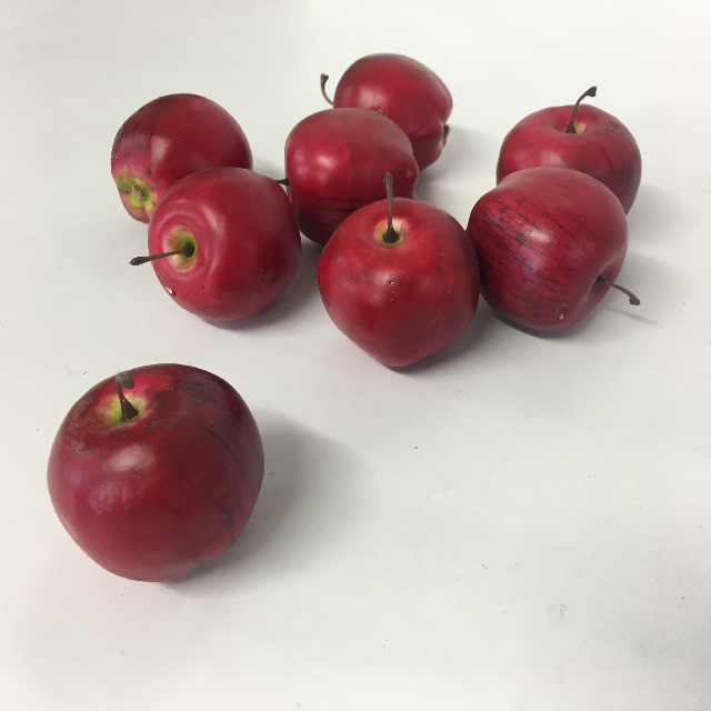 FRU0028 FRUIT, Artificial - Apple (Extra Small) $0.50