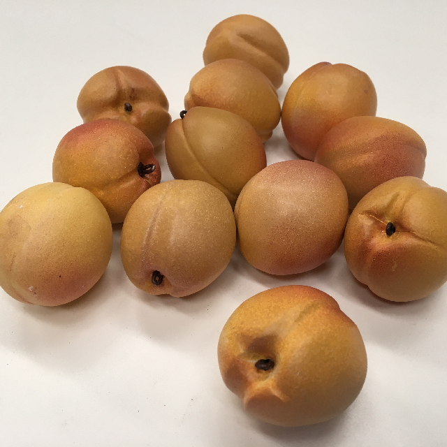 FRU0024 FRUIT, Artificial - Apricot $0.75