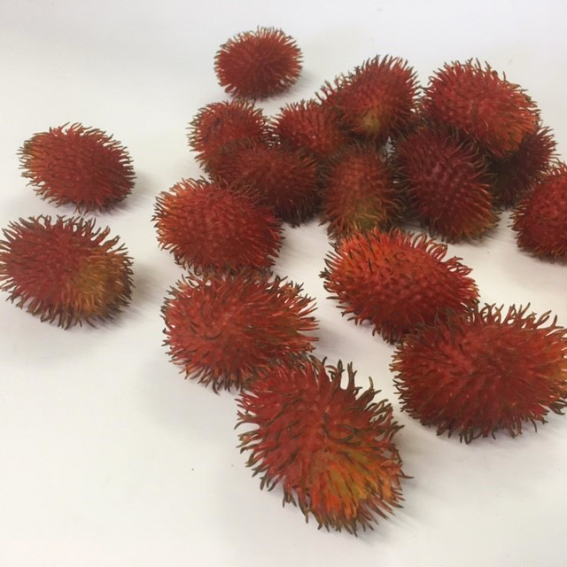 FRU0026 FRUIT, Artificial - Rambutan $1