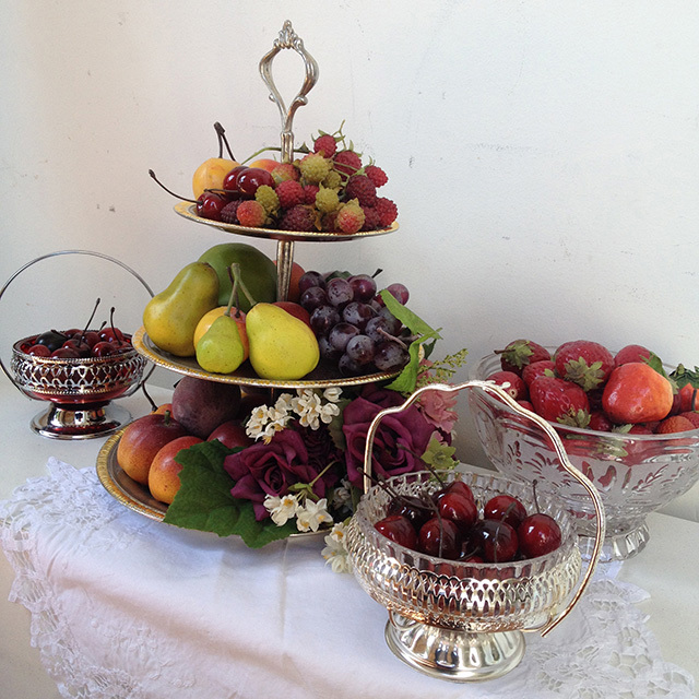 Victorian Fruit Display