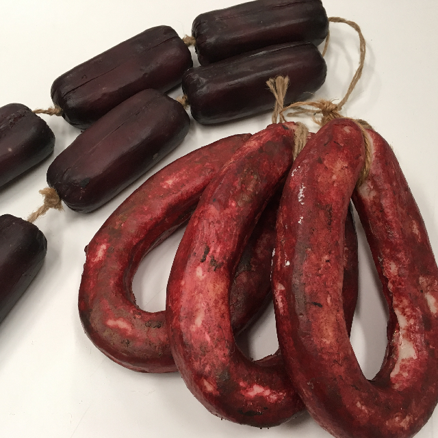 MEA0006 MEAT, Artificial - Salami Strings $11.25