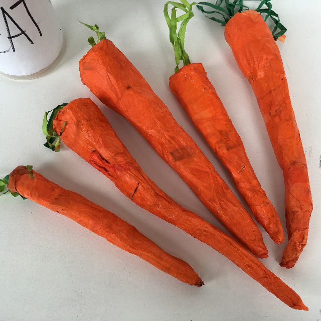 VEG0007 VEG, Artificial - Carrot Oversized 30cm L $3.75
