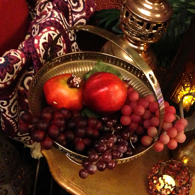 Event Styling - Arabian Fruit Bowl