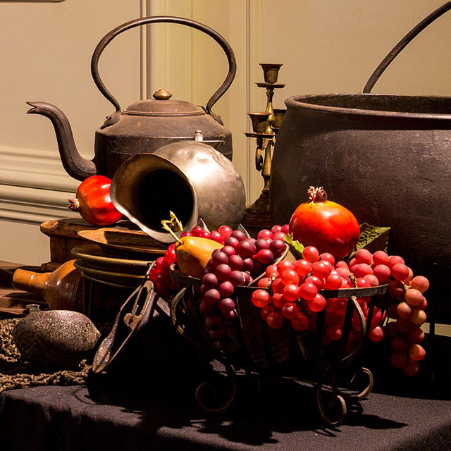 Event Styling - Gothic Table Setting