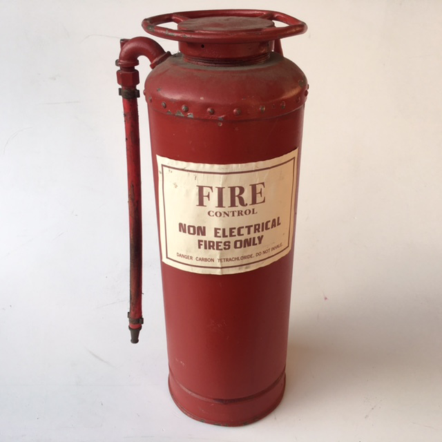 FIR0017 FIRE EXTINGUISHER, Red Simplex w Label $22.50