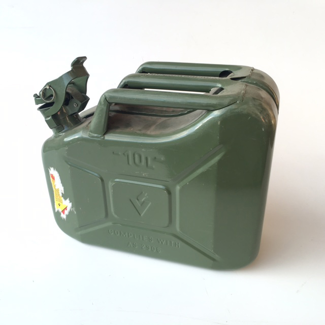 CAN0307 CAN, Jerry Can - 10L Green $10
