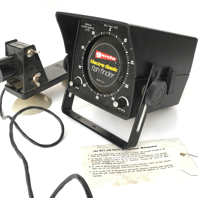FIS0001 FISH FINDER, Electro Sonic $25