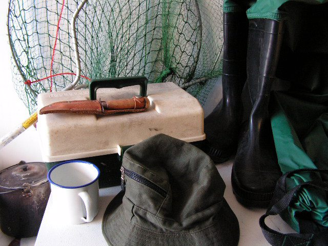 Assorted Fisherman Props