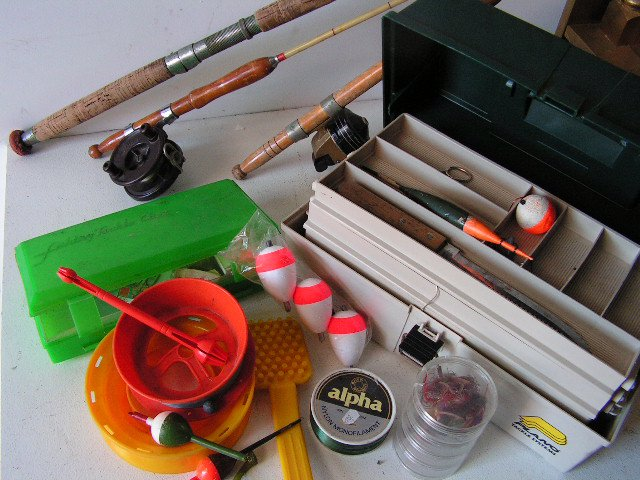 Fishing Props - Rods & Tackle Box