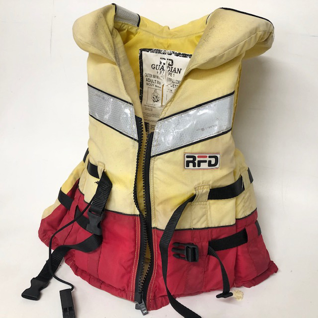 LIF0021 LIFE JACKET, RFD w Neck Cushion - Adult Ex Small $12.50