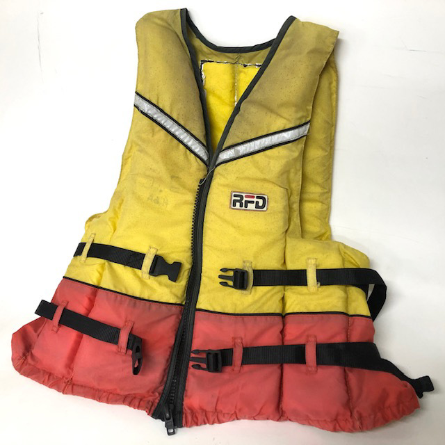 LIF0022 LIFE JACKET, RFD - Adult Med-Large $12.50
