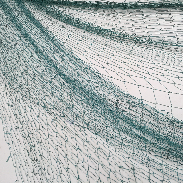 FIS0013 FISHING NET, Aqua Small - 1.5m x 2m $3.75