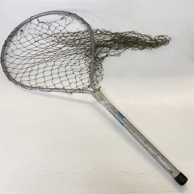 NET0010 NET, (Fishing) Short Handle and Khaki Net $11.25