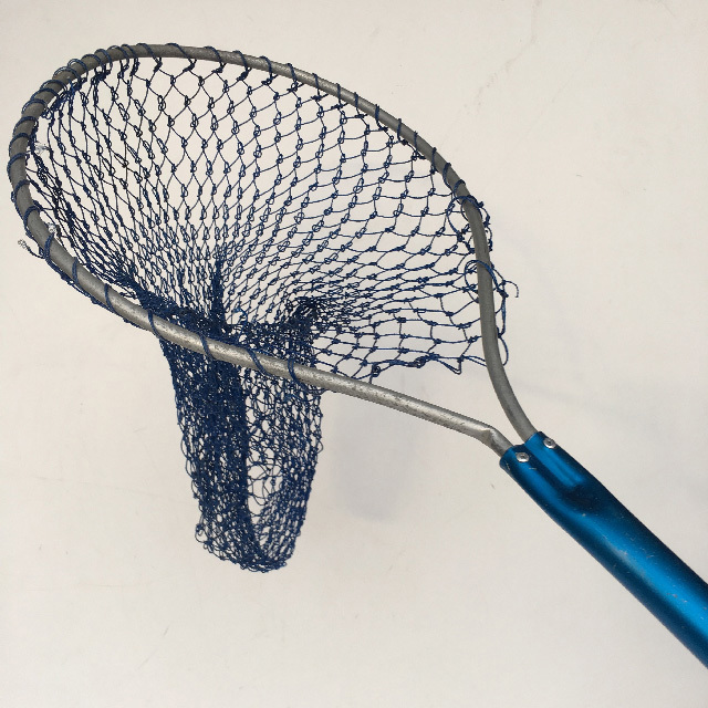 NET0005 NET, (Fishing) Short Blue Aluminium Handle $11.25