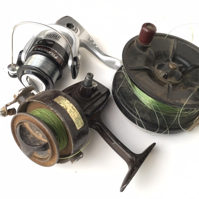 REE0002 REEL, Fishing Rod Reel Assorted $6.25