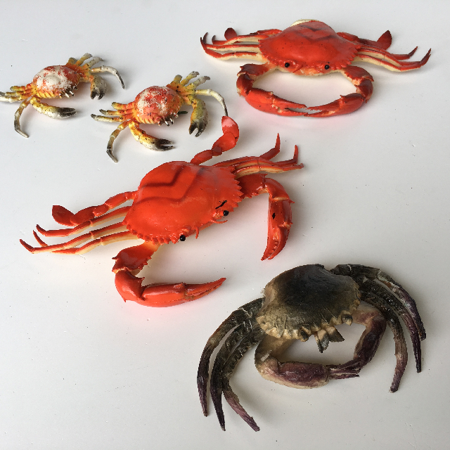 SEAFOOD, Artificial - Crab Large (SEA0007) $3.75 & Small (SEA0008) $1.25
