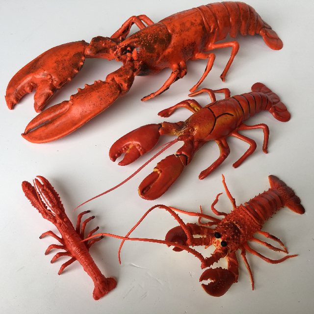 Lobster/Crayfish Medium (SEA0010) $6.25 & Small (SEA0011) $3.75
