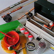 Rods & Tackle Box