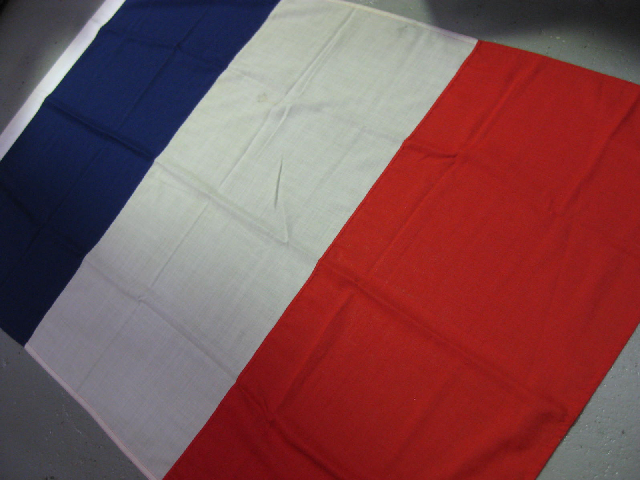 FLA0014 FLAG, French - Ex Large Cotton 120cm x 190cm $62.50