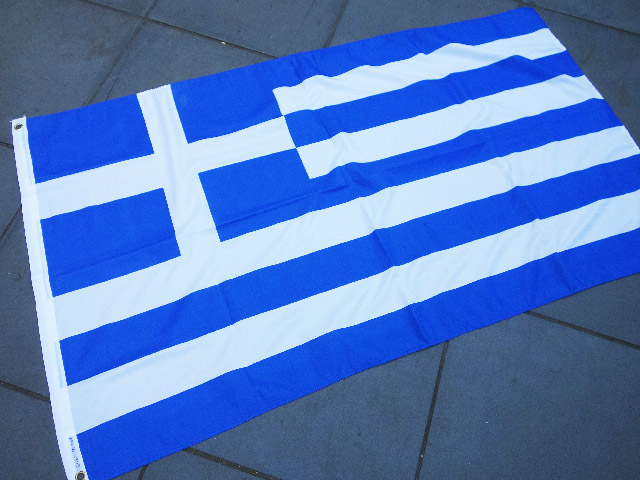 FLA0026 FLAG, Greek - 90cm x 150cm Polyester $13.75