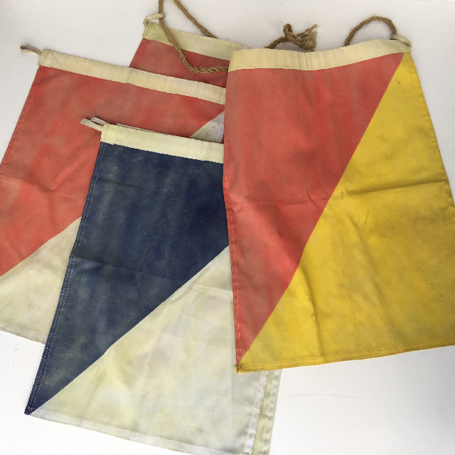 FLA0035 FLAG, Nautical Faded - Stitched 45cm x 60cm $18.75