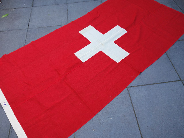 FLA0049 FLAG, Swiss - Ex Large Cotton 120cm x 240cm $62.50