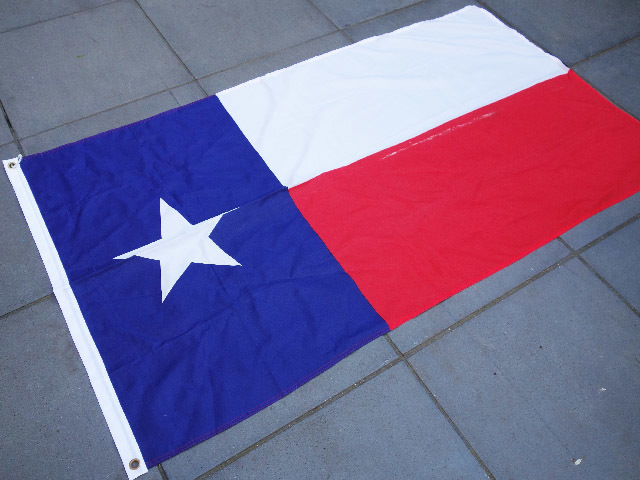 FLA0024 FLAG, Texas State - 90cm x 150cm Polyester $13.75