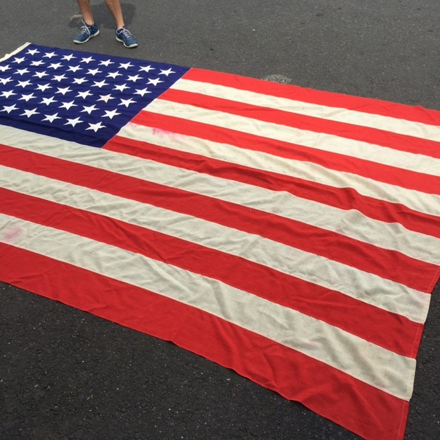 FLA0005 FLAG, USA Ex Large Stitched - 225cm x 340cm $87.50