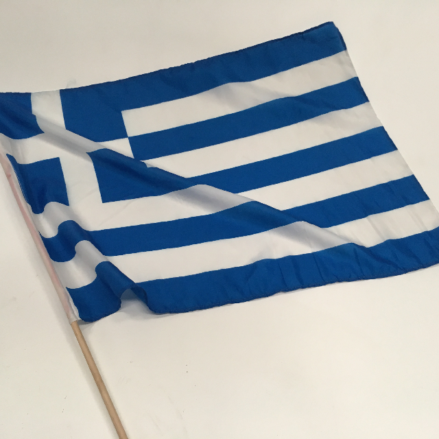 FLA0066 FLAG, Handwaver - Greek (Standard) $1.25