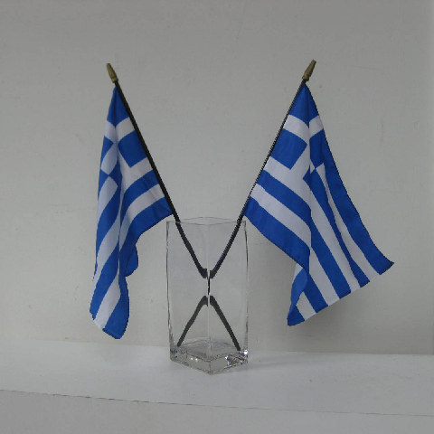 FLA0067 FLAG, Handwaver - Greek (65 x 45cm) $6.25