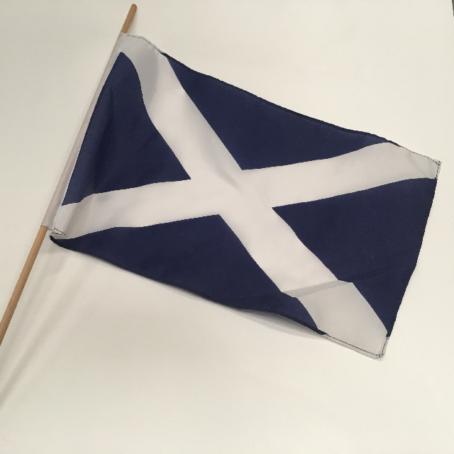 FLA0075 FLAG, Handwaver - Scottish (45 x 30cm) $3.75