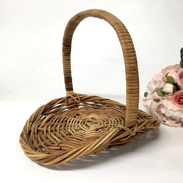 BAS0013 BASKET, Flower Basket Small $10