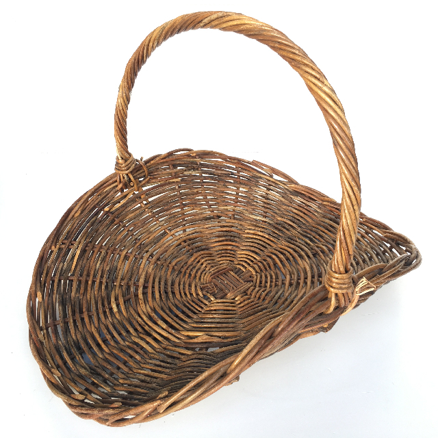 BAS0025 BASKET, Flower Basket $11.25