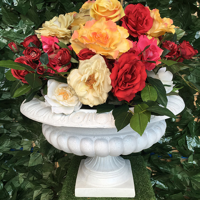 FLO0056 FLORAL ARRANGEMENT, Colourful Roses - Large $30