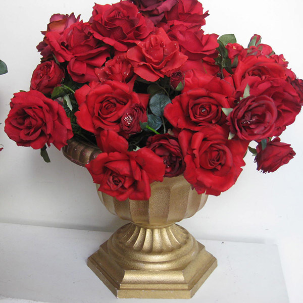 FLO0058 FLORAL ARRANGEMENT, Red Roses - Large $30