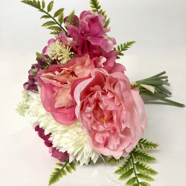 FLO 0071 FLORAL, Bouquet - Pink & White Assorted $7.50