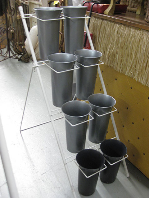 FLO0064 FLOWER STAND, Holds 8 Buckets $37.50