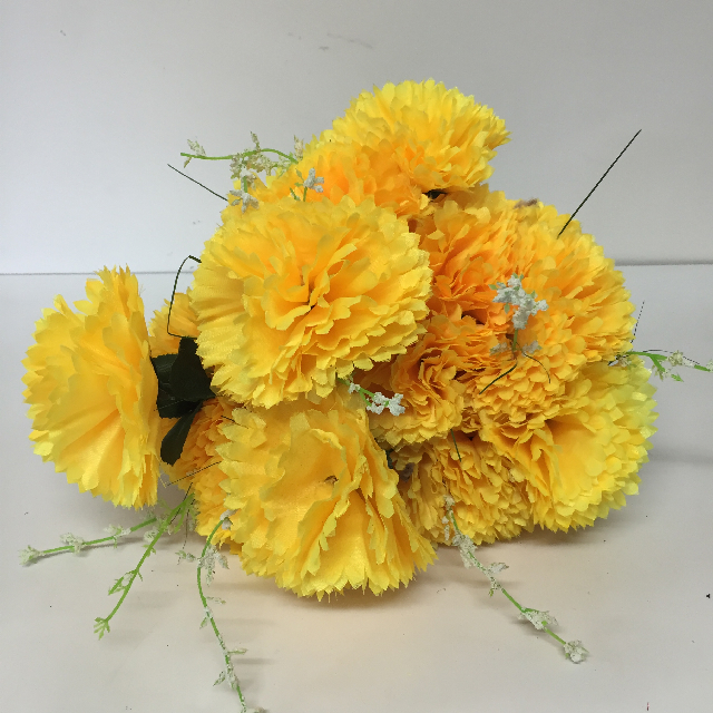FLO0106 FLOWER, Carnation - Yellow $1