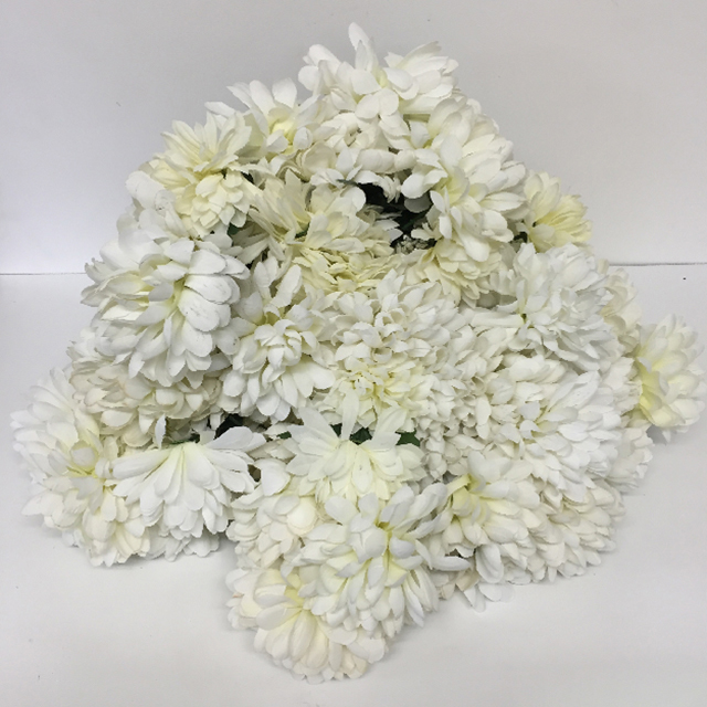 FLO0107 FLOWER, Chrysanthemum Spray - White $1.25