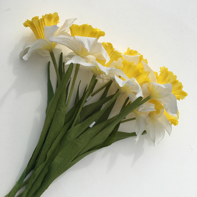 FLO0072 FLOWER, Daffodil - White $0.75