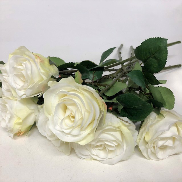FLO0015 FLOWER, Rose - White $1
