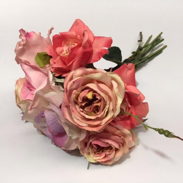 FLO0094 FLOWER, Rose - Assorted Pinks $1.25